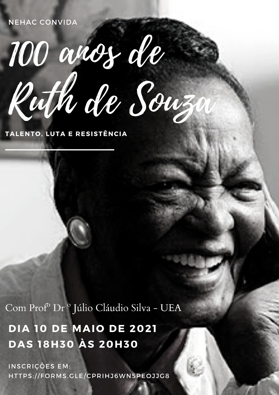 100 ANOS DE RUTH DE SOUZA: TALENTO, LUTA E RESISTÊNCIA